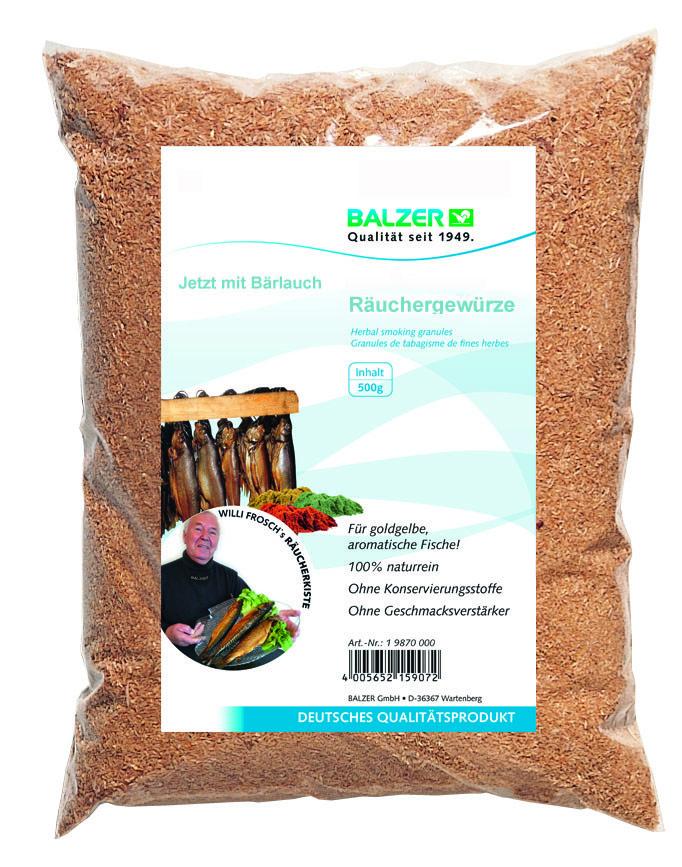 Суміш для копчення Balzer 500гр bear's garlic spice