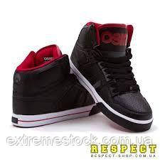 Кроссовки Osiris NYC 83 VLC blk/red/blk 42,5