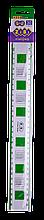 Линейка 30 см универсальная (для левши и правши) с таблицей умножения, в блистере, KIDS Line