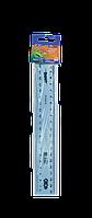 Линейка пластиковая 20 см.,тонированная, ассорти, в блистере,  SMART Line