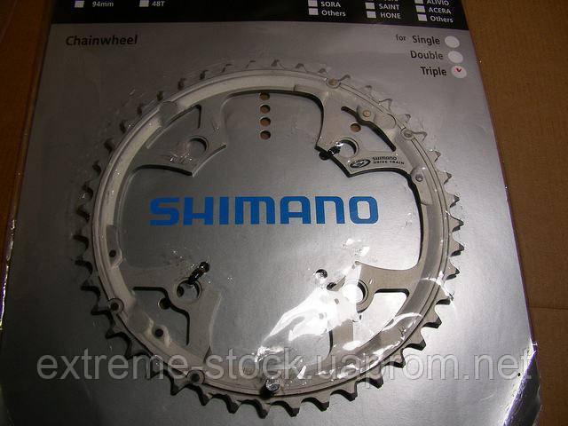 Звезда Shimano Deore FC-M510/540, 44 зуба, алюминиевая