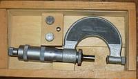 Микрометр МВП 0-25 с плоскими вставками