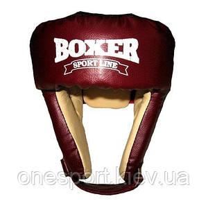 Шлем Boxer 6002 К L красный (код 236-250406)