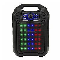 Портативная колонка Мини чемодан со светомузыкой B-15 (1em_005843)