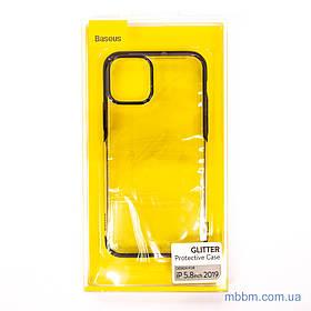 Чохол TPU Baseus Glitter iPhone 11 Pro Black