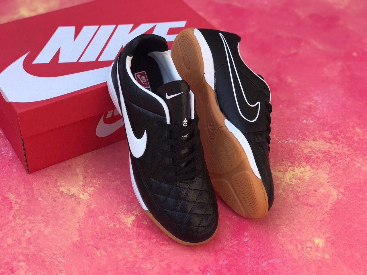 Футзалки Nike Tiempo /футбольная обувь/найк темпо