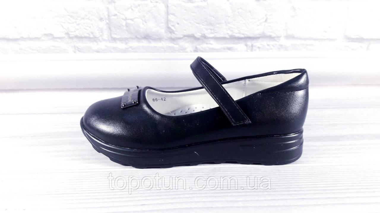 """Детские школьные туфли для девочки """"Yalike"""" Размер: 27,28,29,30"""