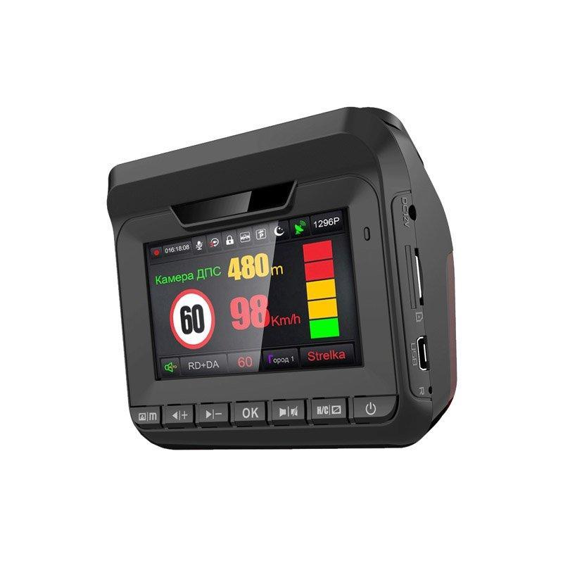 Комбо видеорегистратор 3-в-1 Eplutus GR-96 радар-детектор и GPS-информатор