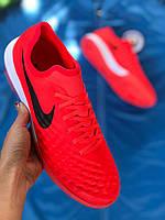 Футзалки  Nike Magista TF (найк магиста) красные, фото 1