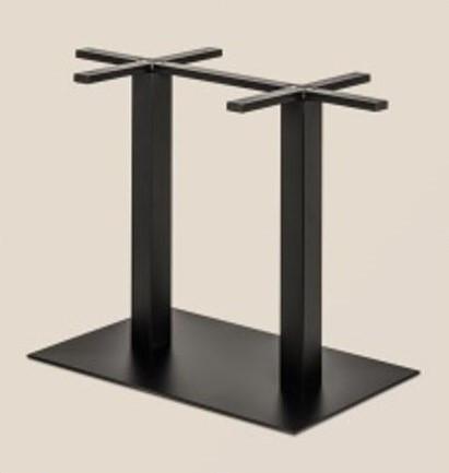 Опора для прямоугольного стола двойная С-50