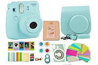 Фотоаппарат мгновенной печати Fujifilm Instax Mini 9 + Набор аксессуаров для Fujifilm