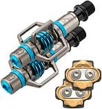 Контактные педали Crank Brothers EggBeater 3, electric-blue, фото 2