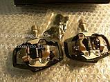 Контактные педали Shimano Deore XT  PD-M785 XC + шипы, фото 5