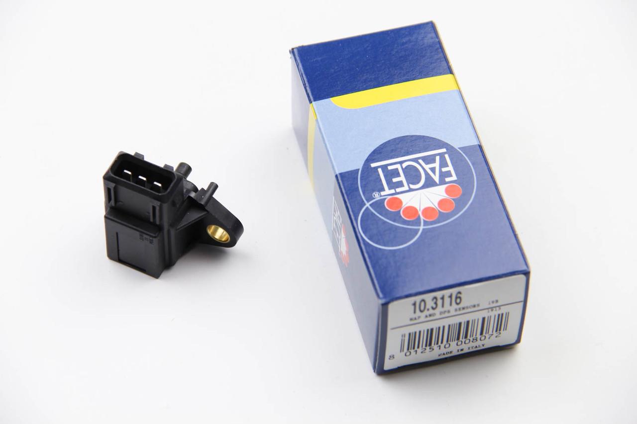 Датчик давления наддува (3 конт.) BMW 1(E81,F20) 2.0D/3.0D/3.9D 2001-