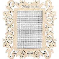 Заготівка для вишивання нитками FLH-004,15*18см