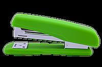 Степлер (скобы: №24/6, №26/6; 20л.; р-р: 122x50x32мм), св-зеленый