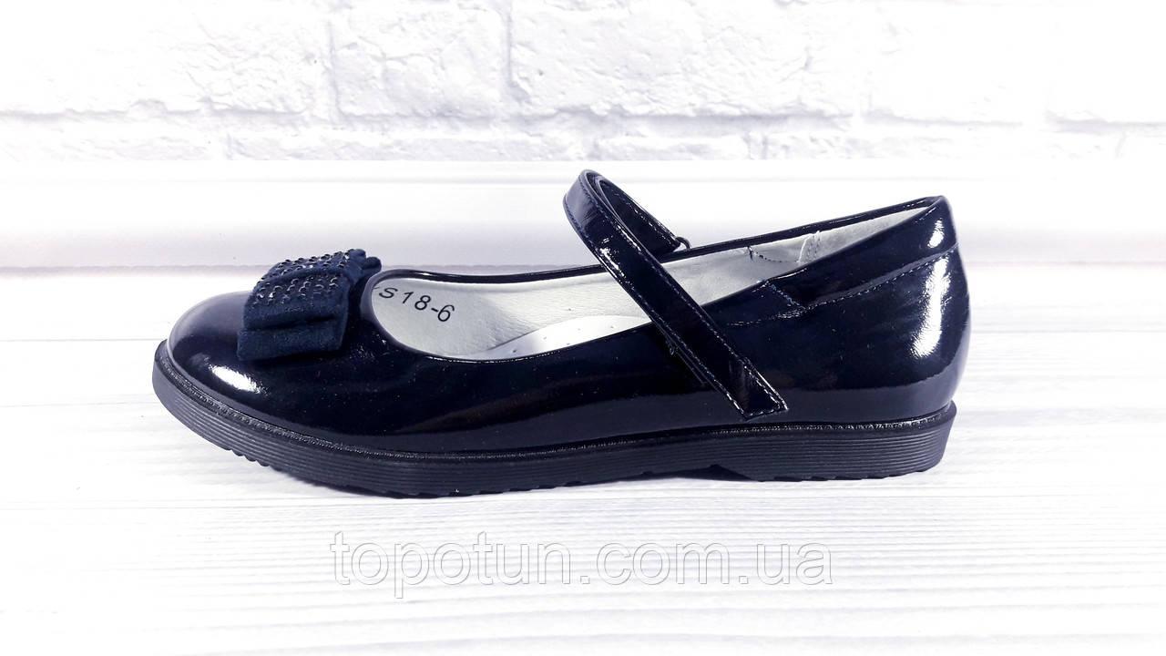 """Детские школьные туфли для девочки """"Солнце"""" Размер: 36"""