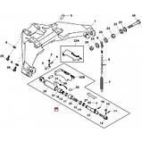 Стабилизатор задней навески (RE63545/4271707M93/RE48400/87595426), JD8430/8530/8345R/8310R, фото 2