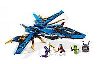 Конструктор Ninja Bela 'Штормовой истребитель 524 детали, фото 1