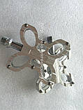 Педали Mpeda AL-221 UltraLight, CNC, промподшипники, серебро, фото 2
