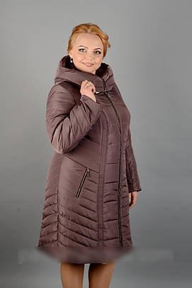 Плащевое женское пальто