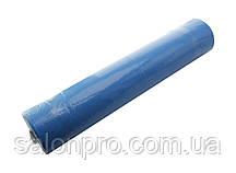"Одноразовые простыни ""Эко-Лайн"" рулон 0,6х100 м, цвет голубой"