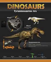 """Тетрадь 60л. (клетка), """"Динозавры"""""""