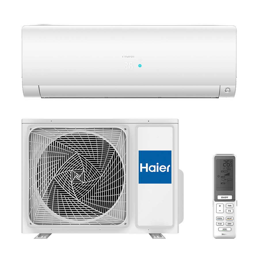 Кондиционер Haier AS50S2SF1FA-CW/1U50S2SJ2FA Flexis Inverter WI-FI -25⁰C white matt