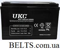 Гелевый аккумулятор УКС 120 А, аккумулятор UKC 120A