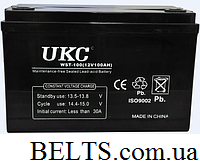 Гелевий акумулятор УКС 120 А, акумулятор UKC 120A