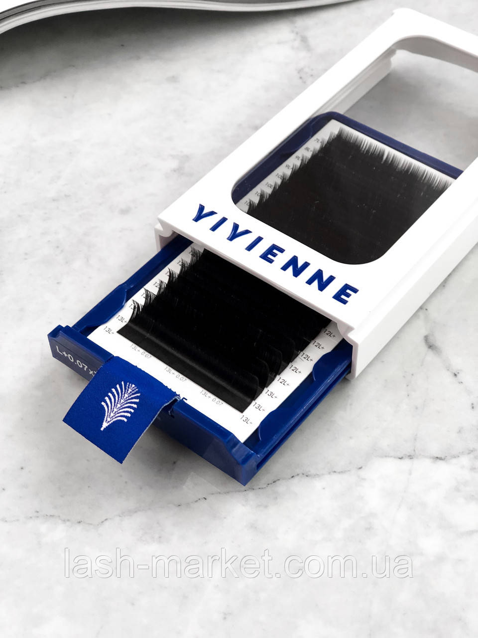 Ресницы mix L 0.07 (7-13 мм) Vivienne Elite