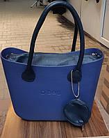 Женская сумка O bag classic в синем корпусе