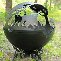 Очаг-шар Быки 500