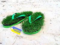 Тапки с травой  (размер 34-46)