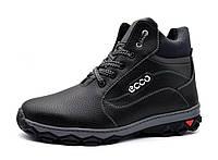 Мужские ботинки зимние утепленные на протекторной подошве
