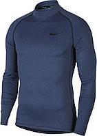 Термобелье мужское Nike Top Tight LS Mock BV5592-451 Темно-синий