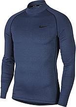 Термобілизна чоловіча Nike Top Tight LS Mock BV5592-451 Темно-синій