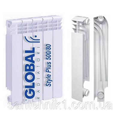 Биметаллические радиаторы GLOBAL STYLE PLUS 500/95, 35 Атм, 185Вт (Италия). Киев, фото 2