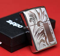 Зажигалка Zippo 21138 Scroll Design V Panel (Узоры)