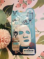 Корейская увлажняющаятканевая маска для лица Elizavecca Milky Piggy Cyborg Aqua Deep Power Ringer Mask Pack