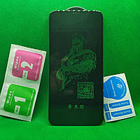 IPhone 11 PRO Изогнутое 5D защитное стекло Черное