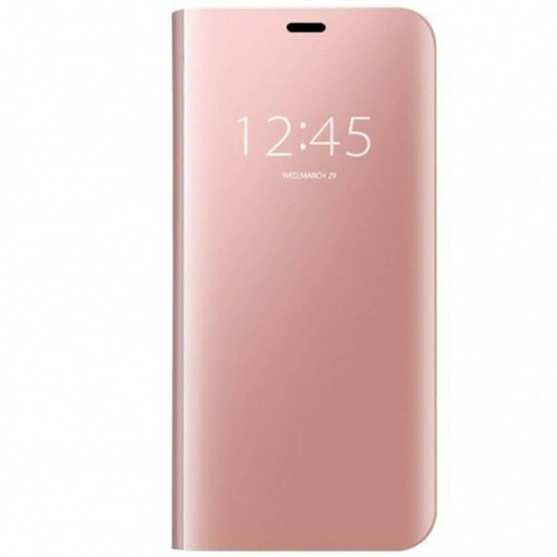 Чехол-книжка Clear View Standing Cover для Xiaomi Redmi 7A Rose Gold