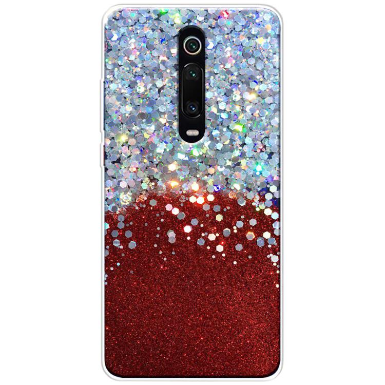 Чехол-накладка Galaxy Glitter для Xiaomi Redmi K20 / K20 Pro / Mi9T / Mi9T Pro Красный