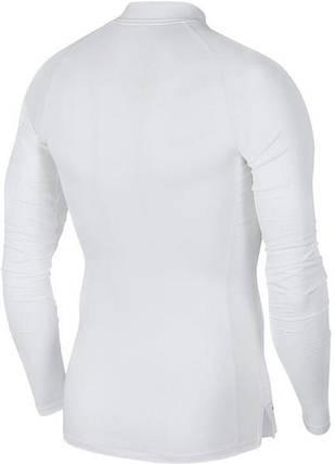 Термобелье мужское Nike Top Tight LS Mock BV5592-100 Белый, фото 2