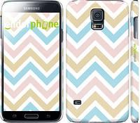 "Чехол на Samsung Galaxy S5 g900h Шеврон v8 ""2821c-24"""