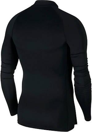 Термобелье мужское Nike Top Tight LS Mock BV5592-010 Черный, фото 2