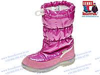 Зимние сапожки KUOMA Gloria Pink для девочки. Размер 33 (21,5см)