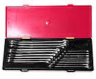 Набор ключей рожково-накидных 6-23мм., европейский стандарт 17ед., фото 4