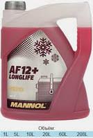 Антифриз   Mannol Antifreeze AF12+ -40°C 5L