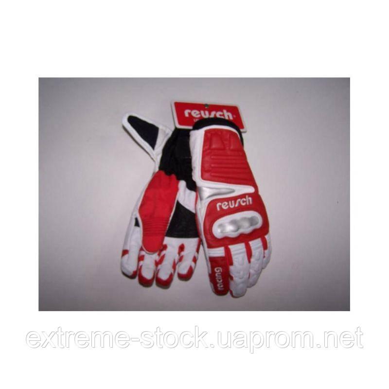 Перчатки Reusch SAMURAI TRAINING JR ч/б/красный 4